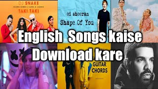 How to Download English Songs best site