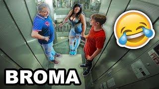 🎵TONOS de LLAMADAS VERGONZOSOS en el ASCENSOR | Bromas en el ascensor con Justin Bieber