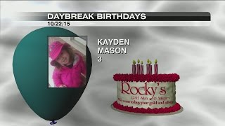 Birthdays & Anniversaries - October 22