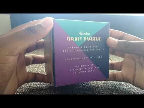 Unboxing The Wooden Orbit Puzzle