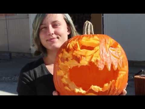 Pumpkin Carving With Herron School Of Art And Design Sculpture