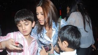 Sonali bendre family photos unseen