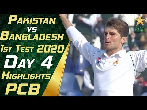 Pakistan Vs Bangladesh 2020 | Full Highlights Day 4 | 1st Test Match | PCB