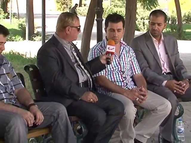 أربيل: لقاء قناة الديار بأنصار الإمام المهدي ع