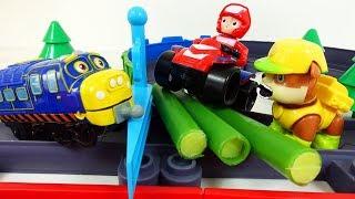 Щенячий Патруль Мультики для детей - Паровозик и Щенки новые серии Мультфильмы с Игрушками