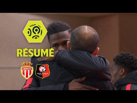 AS Monaco - Stade Rennais FC (2-1)  - Résumé - (ASM - SRFC) / 2017-18