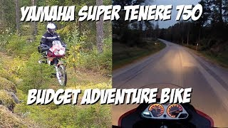 Yamaha Super Tenere 750 the budget adventure motorcycle