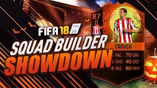 🎃👻 HALLOWEEN SPECIAL SQUAD BUILDER SHOWDOWN! INSANE PETER CROUCH BOOSTED CARD! FIFA 18 ULTIMATE TEAM