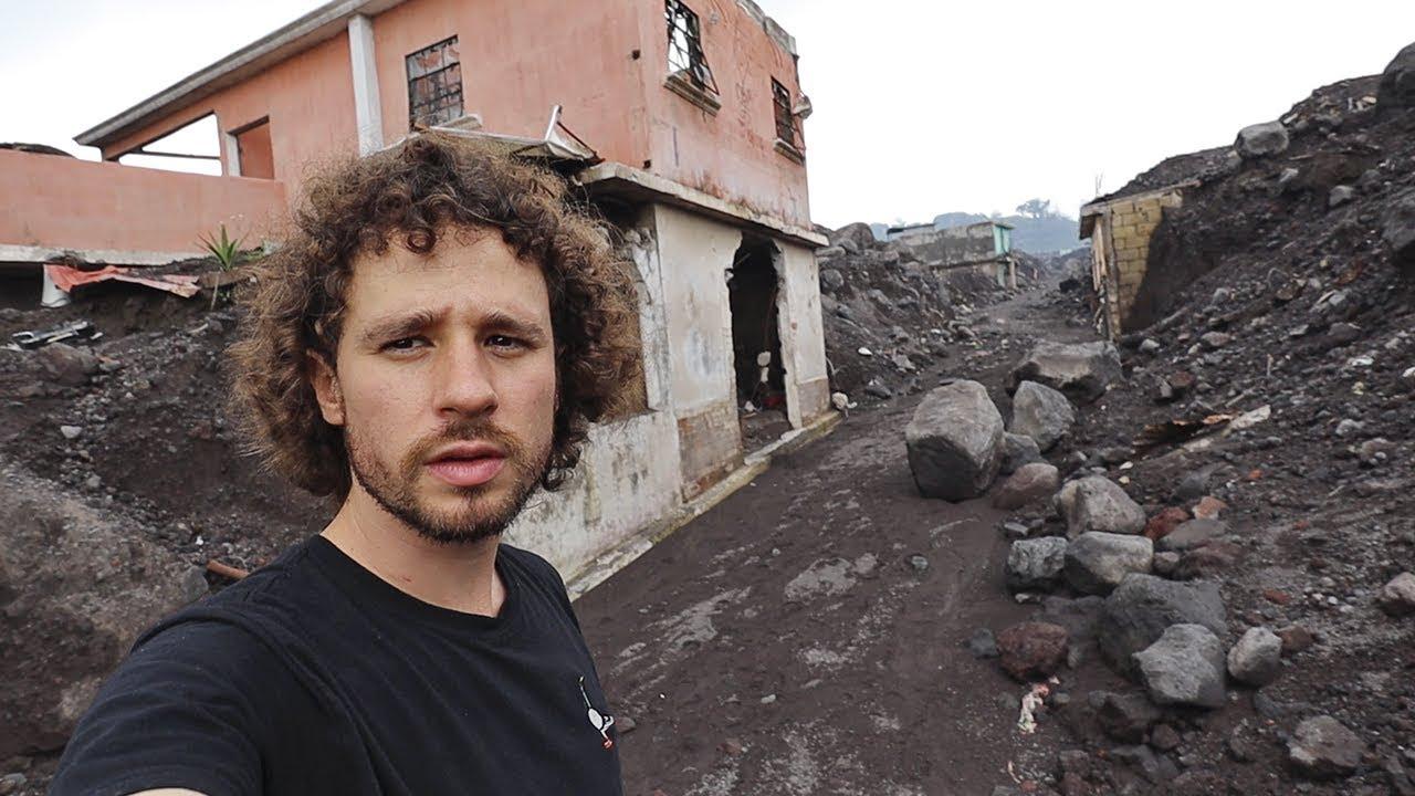 La ciudad que quedó HECHA CENIZAS por un volcán | Guatemala