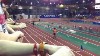 Lopez Lomong 5000 Meters American Record 3-1-13 Armory, New York