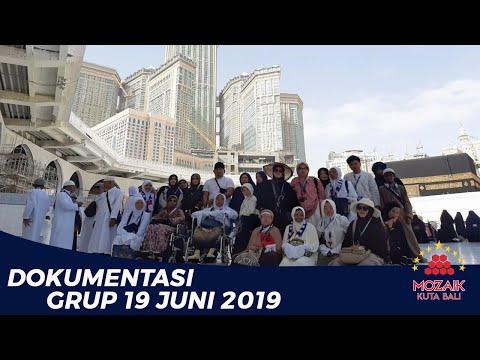 Milad Arrayyan al mubarak Perjalanan Umrah Syawal. Grup umrah Milad ArRayyan Al mubarak 10 juni 2019.