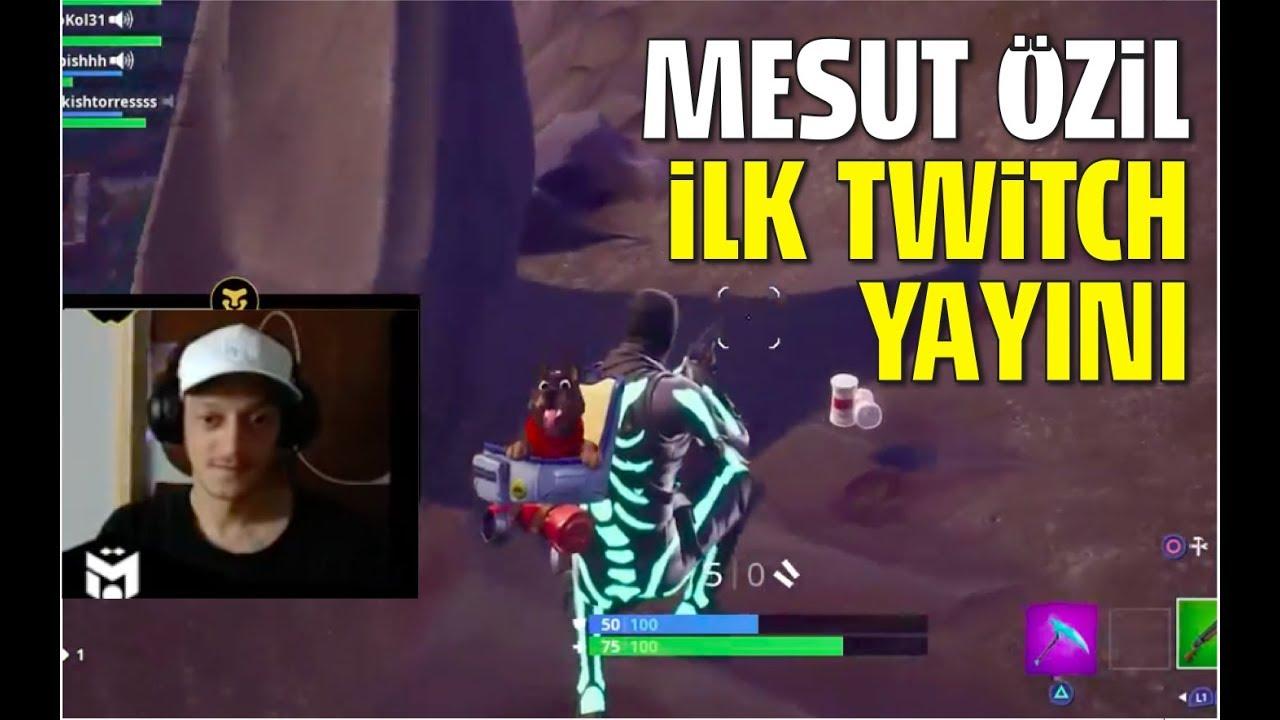 Mesut özil Twitch