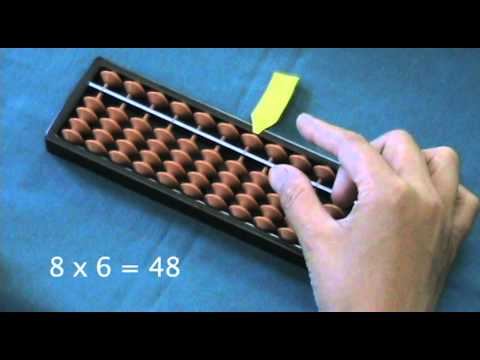 how to multiply using a soroban japanese abacus par doovi. Black Bedroom Furniture Sets. Home Design Ideas