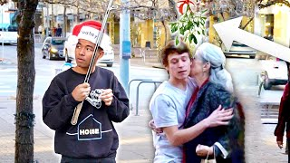 helping-my-friends-get-kisses-with-a-mistletoe