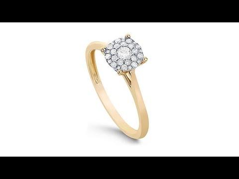 Diamond Couture 14K Gold 0.2ctw Diamond  Round Ring. https://pixlypro.com/5YVIlLn