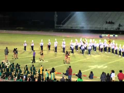 Westside High School Marching Band Half time Show 2011
