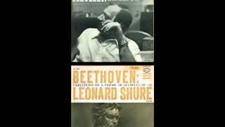 """Leonard Shure plays Beethoven """"Diabelli Variations"""" Op. 120"""