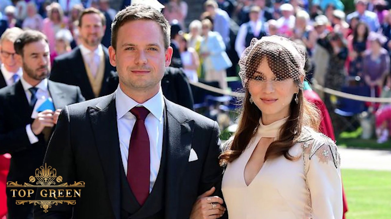 Suits Cast At Prince Harry And Meghan Markle Wedding Youtube
