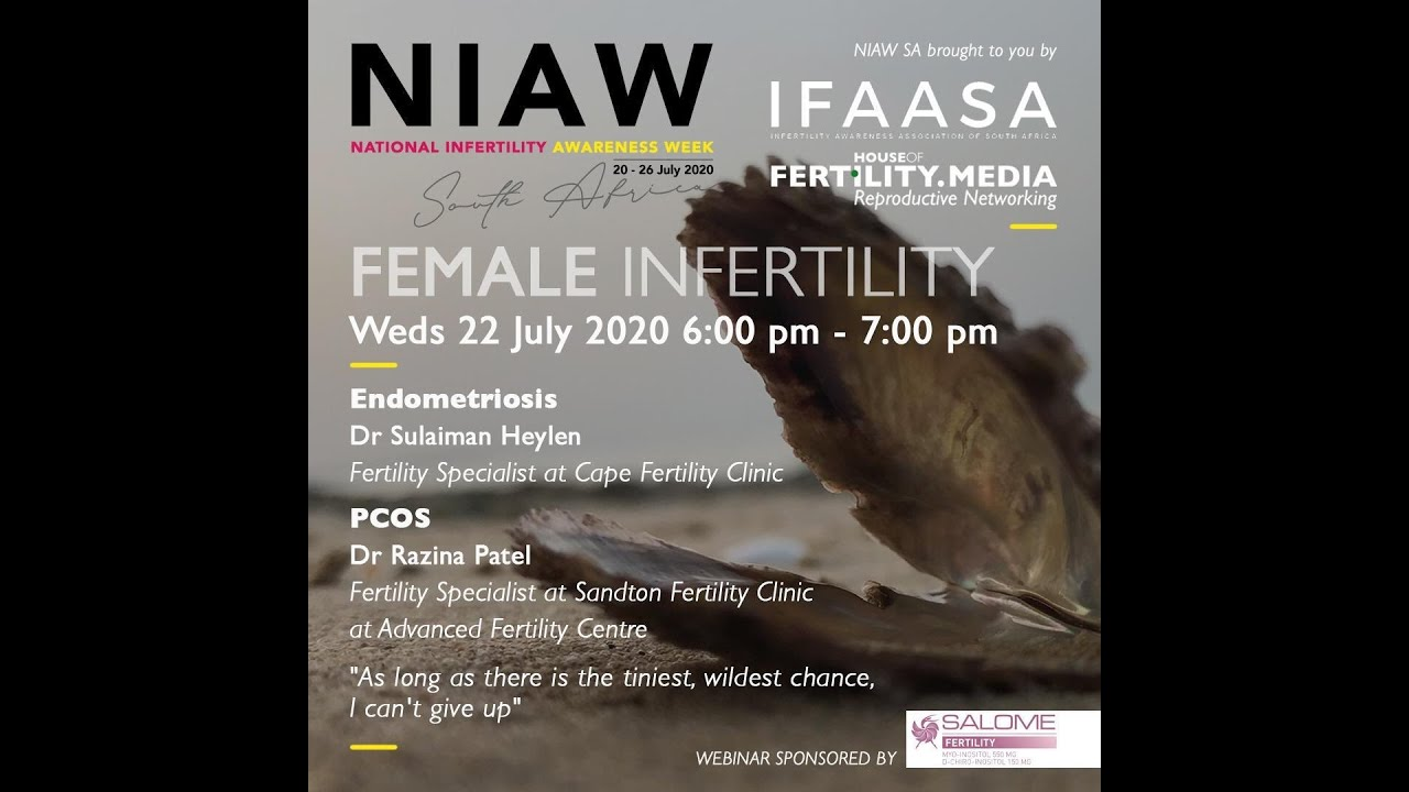 FEMALE INFERTILITY WEBINAR NIAW 2020