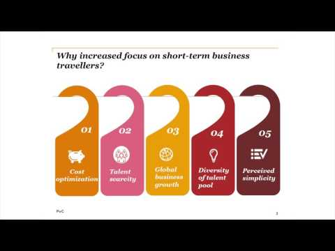 PwC Global Mobility Seminar – Short-term business travellers governance: Are you managing the risks?
