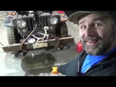 Willys Jeep Rescue: Wholly Smokes!! SHE RUNS!! Grumpy old Jeep Gets a Name!