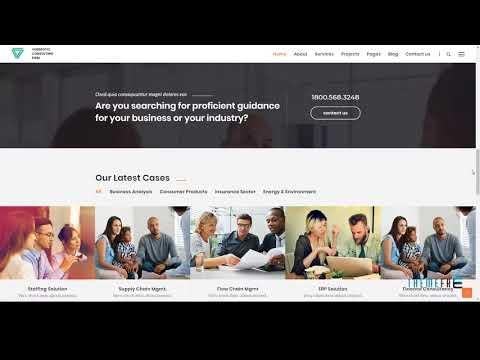 Verbrotic : Business Consulting WordPress Theme        Zach Delbert
