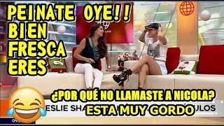 LESLIE SHAW Y REBECA ESCRIBENS EN AMÉRICA ESPECTÁCULOS