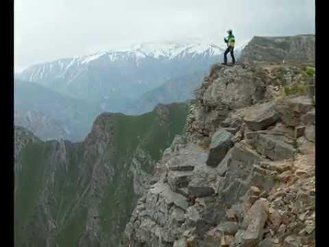 Polatkhan plateau in Uzbekistan