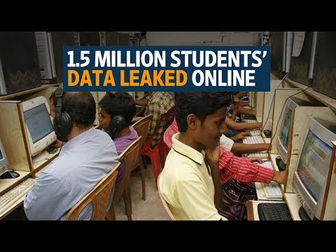 1.5 million students' data leaked online, put up for sale for up to Rs60,000