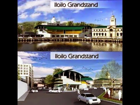 "The NEW Iloilo City ""Freedom Grandstand"" construction, Port of Iloilo City, Philippines has begun!"