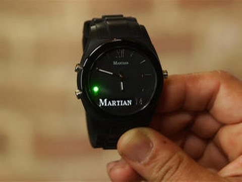 Martian Notifier Smartwatch Alerts Discreetly And With Style Youtube