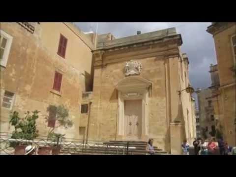 Malta. Vittoriosa. Fort St.Andgelo. Video Credit: Ida Malkin
