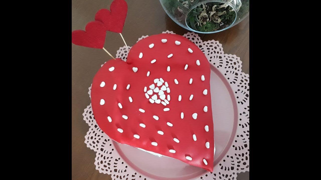 Sevgililer Günü Pastası, doğum günü pastası , yaş pasta / çok kolay tarifler