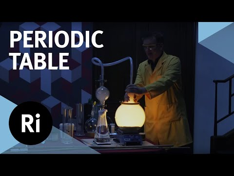 Investigating the Periodic Table with Experiments - with Peter Wothers