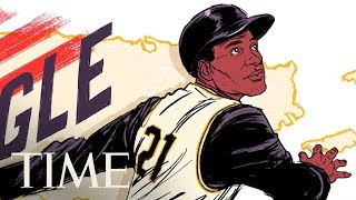 Baseball Legend Roberto Clemente Honored In Google Doodle | TIME