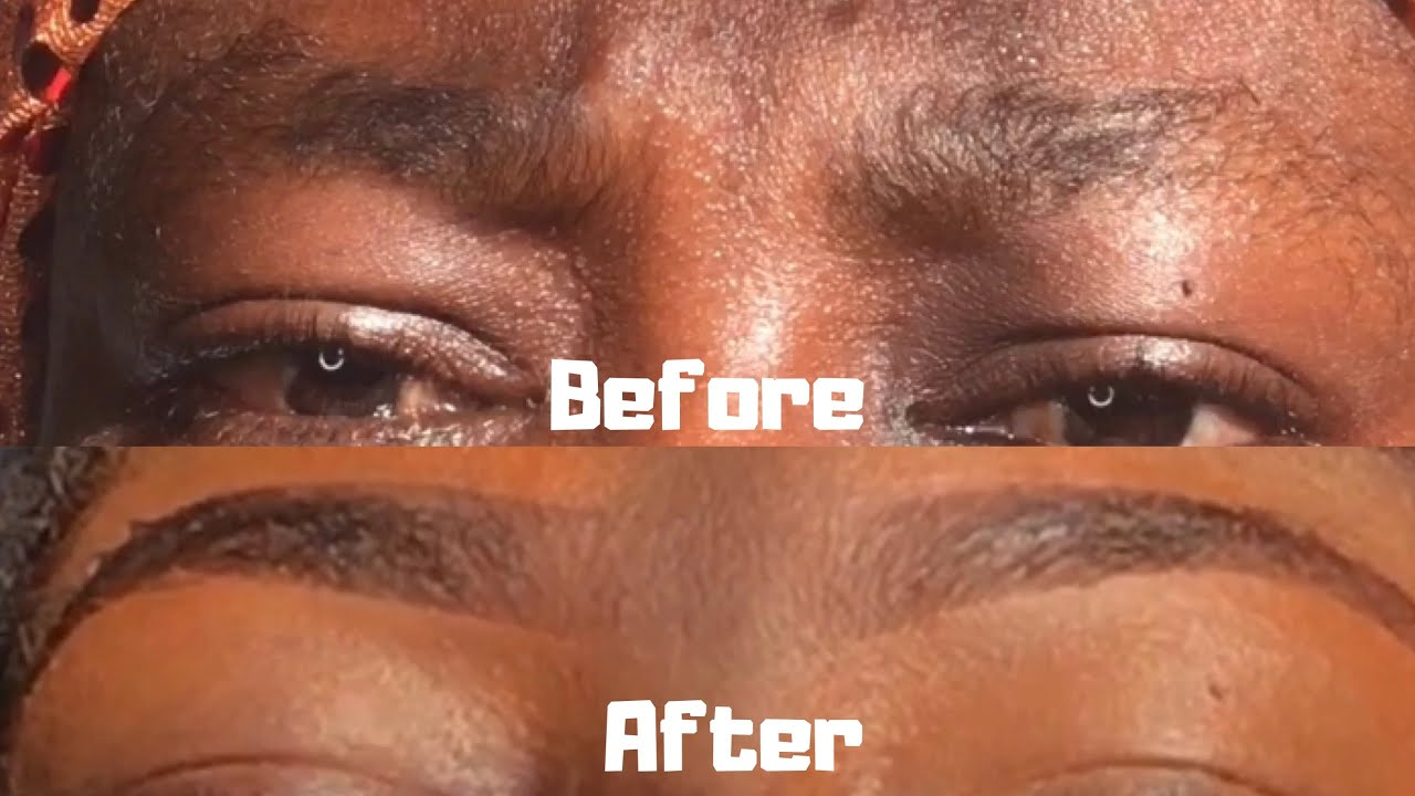 HOW TO PERFECTLY SHAPE YOUR EYEBROWS WITH RAZOR BLADE ...