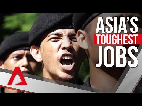 Asia's Toughest Jobs: The Black Army of Thailand