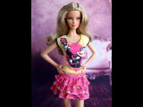 Petit d fil fashion pour poup es barbie no l 2012 youtube - Barbie de noel 2012 ...