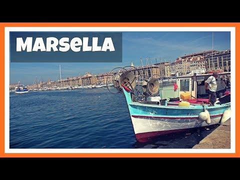 Top 5 lugares para ver y visitar en MARSELLA: ciudad más antigua de Francia | Costa Azul 1#