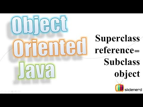 54 Java SuperClass Reference Variable |