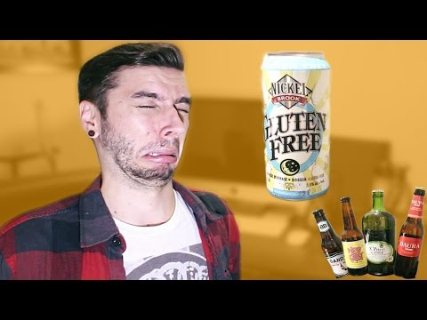TRYING GLUTEN FREE BEER!