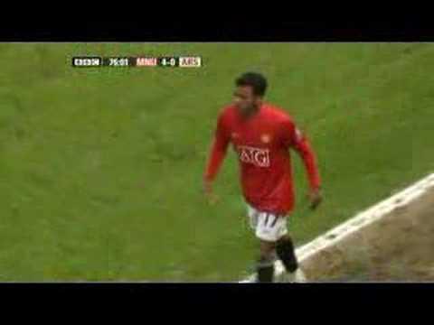 Nani piece of skill vs Arsenal ( seal dribble )