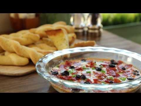 How to Make Hot Pizza Dip | Game Day Recipes | Allrecipes.com