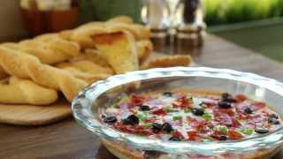 Game Day Recipes - How To Make Hot Pizza Dip