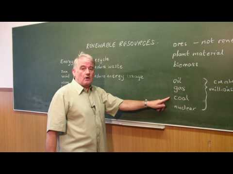 How Things Work : What Are Renewable Resources?