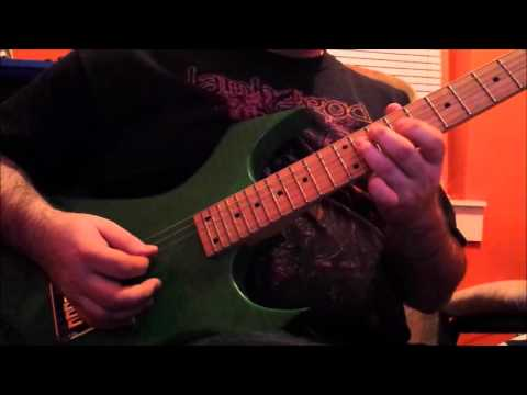 Volbeat - Fallen ( Solo Guitar Cover Only )