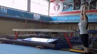 Вольные упражнения гимнастика