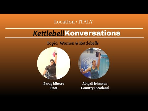 Interview on Kettlebell Sport I Abigail Johnston by Parag at World Championships Italy 2018 I EKFA
