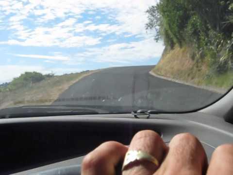 Driving upto Sunshine Settlement Road