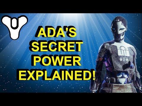 Ada's Secret Power Explained! Destiny 2 Black Armory | Myelin Games thumbnail